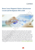 Breast Cancer Diagnostic Market Value Projected to Expand by 2018-2026