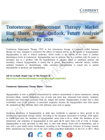 Testosterone Replacement Therapy Market New Opportunities For Growth Till 2026