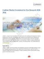 Codeine Market Predicted to Grow at a Moderate Pace Through 2026