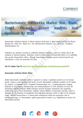 Bacteriostatic Antibiotics Market Current Innovative Solutions to Boost Global Growth By 2026