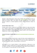 Quercetin Dihydrate Market Driven by Rapid Transformation in Pharmaceutical Sector in 2026
