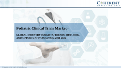 Pediatric Clinical Trials Market
