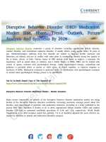 Disruptive Behavior Disorder (DBD) Medication Market To Incur Considerable Upsurge By 2026
