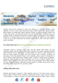 Metabolic Testing Market Latest Innovations, And Industry Key Events Analysis 2026