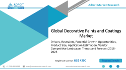 Decorative Paints and Coatings Market