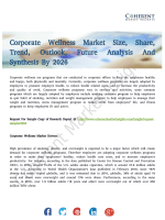 Corporate Wellness Market Projected to Discern Stable Expansion By 2026