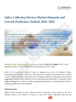 Saliva Collection Devices Market To Witness Robust Expansion Throughout The Forecast Period 2018 -  2026