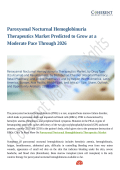Paroxysmal Nocturnal Hemoglobinuria Therapeutics Market: Competitive Intelligence and Tracking Report 2018 – 2026