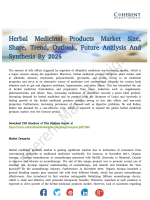 Herbal Medicinal Products Market Poised to Take Off by 2025