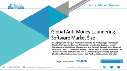 Anti-Money Laundering Software Market growth is propelled