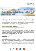 Intravenous Access Devices Market Explored in Latest Research 2017 – 2025