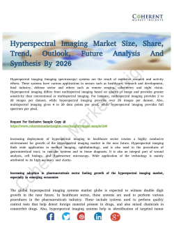 Hyperspectral Imaging Market Granular View Of Industry From Various End-Use Segments
