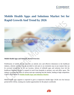 Mobile Health Apps and Solutions Market: Technological Breakthroughs by 2026