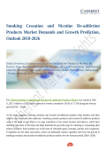 Smoking Cessation and Nicotine De-addiction Products Market is Anticipated to Show Growth by 2026