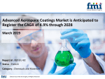 Advanced Aerospace Coatings Market is Anticipated to Register the CAGR of 4.9% through 2028