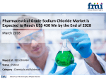 Pharmaceutical Grade Sodium Chloride Market is Poised to Register 5.6% Growth by the End of 2028