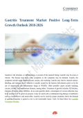 Gastritis Treatment Market Moving Toward 2026 With New Procedures