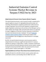 Industrial Emission Control Systems Market Revenue to Surpass US