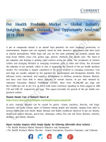 Pet Health Products Market