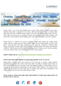 Ovarian Cancer Drugs Market Widespread Research to 2026
