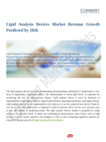 Lipid Analysis Devices Market Revenue Growth Predicted by 2026
