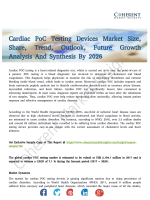 Cardiac PoC Testing Devices Market Professional Inspection Report 2017-2025
