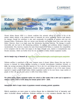 Kidney Dialysis Equipment Market Current and Future Scenario of The Market