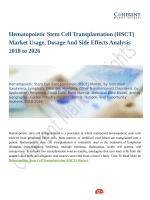 Hematopoietic Stem Cell Transplantation (HSCT) Market Upcoming Trends, Demand and Analysis Till 2026