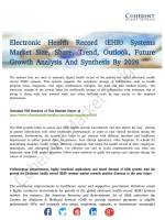 Electronic Health Record (EHR) Systems Market Report For 2018 Explored In Latest Research