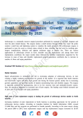 Arthroscopy Devices Market Analysis of Future Trends and Growth Opportunities 2025