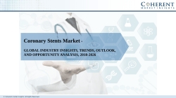 Coronary Stents Market to Surpass US$ 13.0 billion by 2026