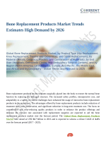Bone Replacement Products Market to Witness a Pronounce Growth by 2026