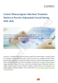 Listeria Monocytogenes Infections Treatment Market to Perceive Substantial Growth During 2018–2026