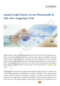 Surgical Scalpel Market Predicted to Grow at a Moderate Pace Through 2026
