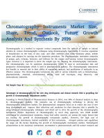 Chromatography Instruments Market to Showcase Healthy Expansion of CAGR During 2018–2026
