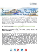 Lysosomal Acid Lipase Deficiency Treatment Market Expected To Hit High CAGR By 2026
