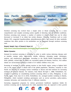 Asia Pacific Newborn Screening Market