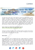 Medical Robotic System Market Seeking Growth from Emerging Study Drivers