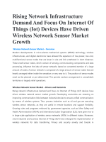 Wireless Network Sensor Market