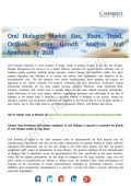 Oral Biologics Market Generate Maximum Revenues By 2026