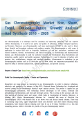 Gas Chromatography Market Application and Trends Forecast to 2026