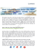 Blood Collection Devices Market Developments and Forecast 2018-2026