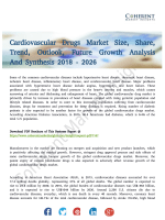 Cardiovascular Drugs Market to Gain Robust Traction During 2018–2026