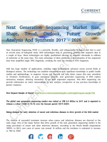 Next Generation Sequencing Market Benefit and Volume 2017 with Status and Prospect