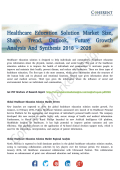 Healthcare Education Solution Market Expected to Witness the Highest Growth 2026