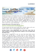 Disposable Blood Bags Market