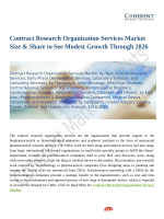 Contract Research Organization Services Market Size & Share to See Modest Growth Through 2026