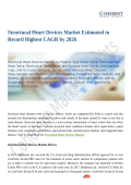Structural Heart Devices Market To Grow Like Never Before By 2026