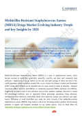 Methicillin-Resistant Staphylococcus Aureus (MRSA) Drugs Market Evolving Industry Trends and key Insights by 2026