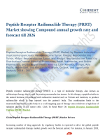 Peptide Receptor Radionuclide Therapy (PRRT) Market showing Compound annual growth rate and forecast till 2026